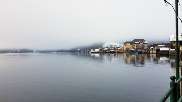 Foggy day at Hallstatt