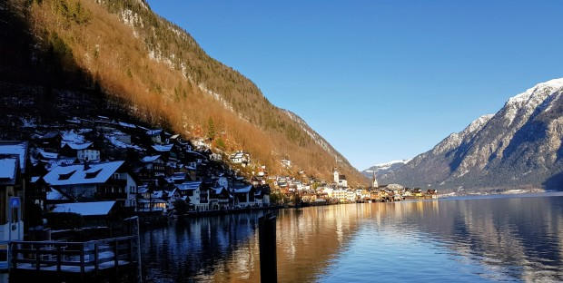 Clear day at Hallstatt