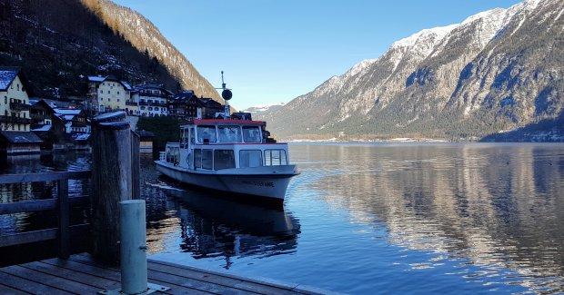 Ferry ride at Hallstatt