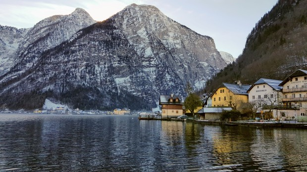 Hallstatt View From Ferry